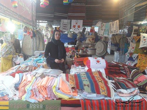 برگزاری بازارچه های موقت صنایع دستی و سوغات در استان گلستان