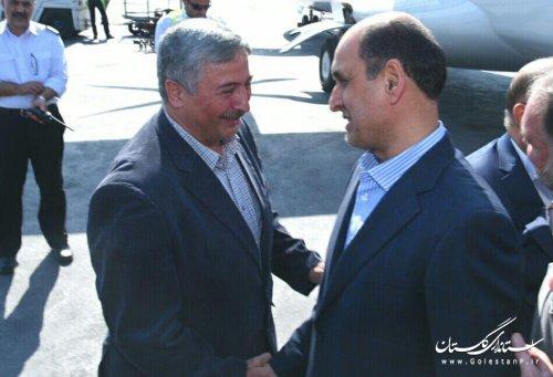 معاون سیاسی وزیر کشور و استاندار گلستان وارد گرگان شدند