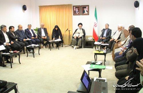 نخستین جلسه شورای فرهنگ عمومی استان گلستان در سال 98 تشکیل شد