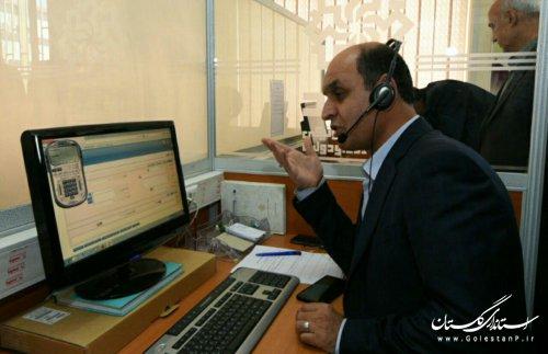اولین حضور استاندار گلستان در مرکز سامد