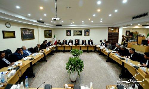 اولین نشست استاندار گلستان با فرمانداران استان