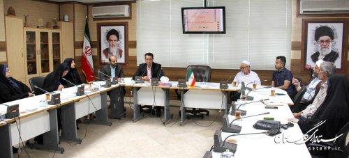 نشست هم اندیشی با مدیران موسسات فرهنگی قرآن و عترت گلستان برگزار شد