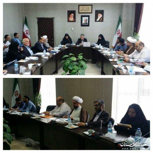 نخستین جلسه شورای هماهنگی بزرگداشت دهه کرامت استان گلستان تشکیل شد