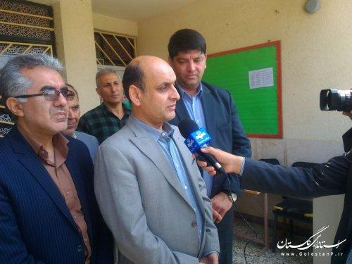 بازدید استاندار گلستان از حوزه های آزمون سراسری سال ۹۸ در گمیشان و آق قلا