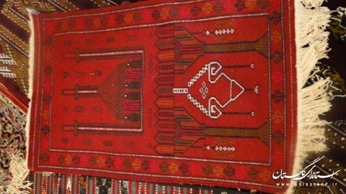 برگزاری نمایشگاه آثار قرآنی صنایع دستی در شهرستان گرگان