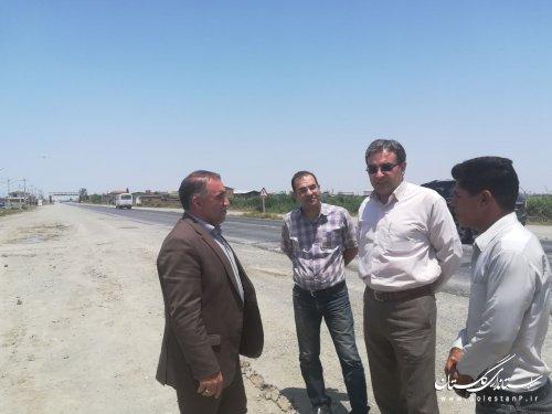 بر تسریع در اجرای پروژه های راهسازی در دست ساخت استان تاکید نمود