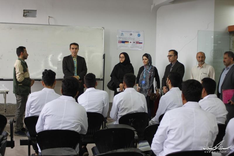 نماینده کمیساریای عالی سازمان ملل متحد در امور پناهندگان از دوره های آموزشی ویژه اتباع خارجی استان گلستان بازدید کرد