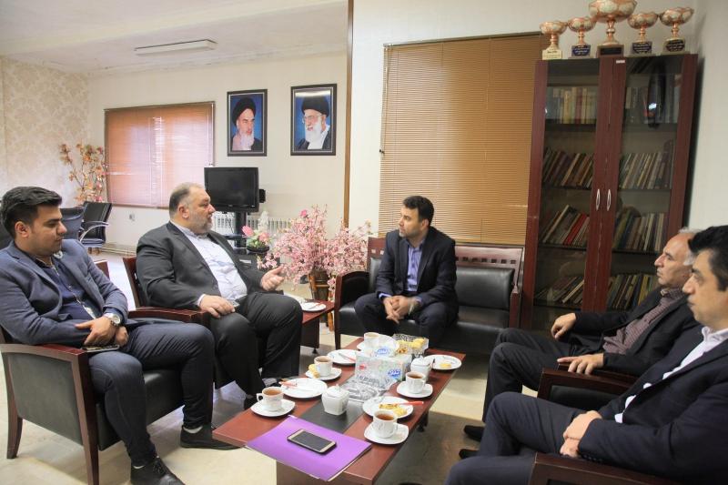دیدار مدیرکل تعاون، کار و رفاه اجتماعی گلستان و نماینده گرگان و آق قلا در مجلس شورای اسلامی