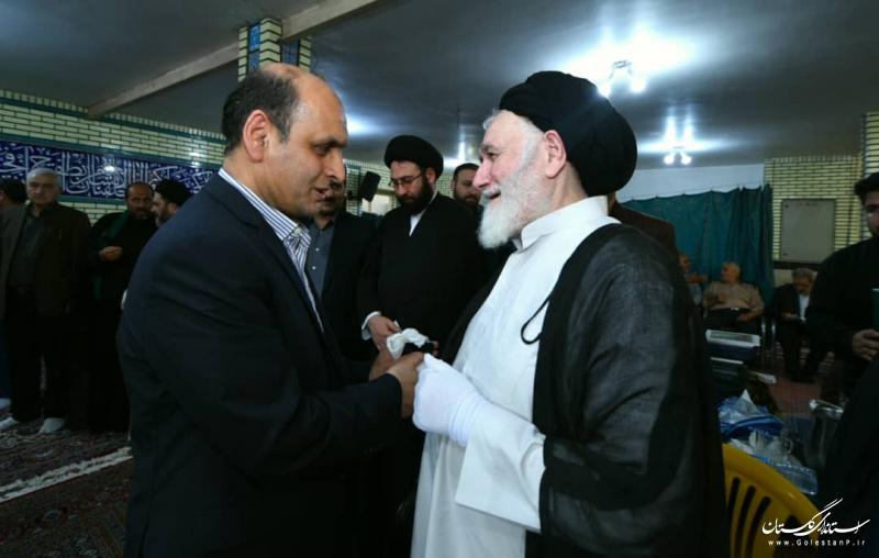 حضور استاندار گلستان در مجلس ترحیم حضرت آیت الله حسینی شاهرودی (رحمه الله علیه)