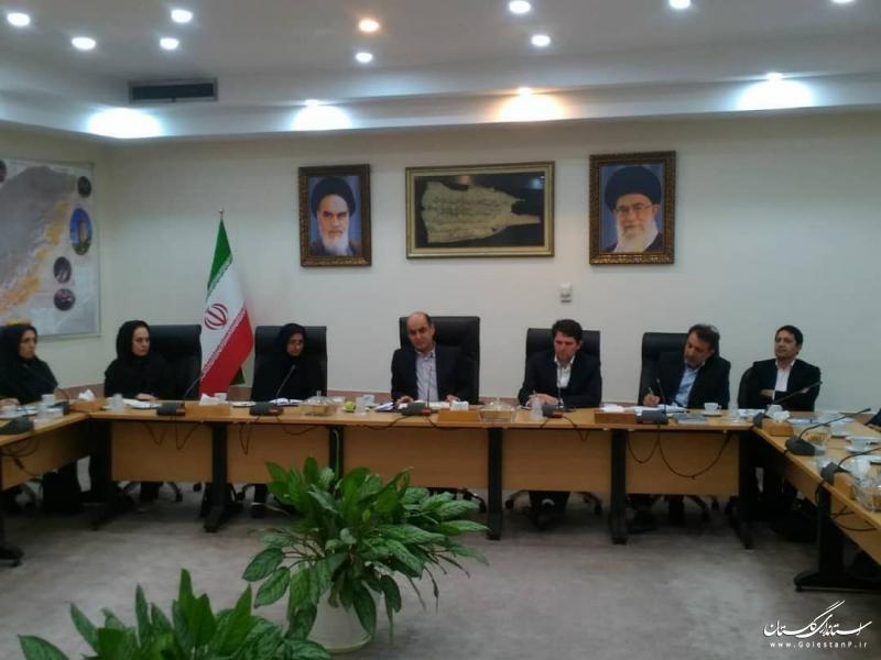 دیدار استاندار گلستان با مدیران و کارمندان اداره کل بهزیستی استان