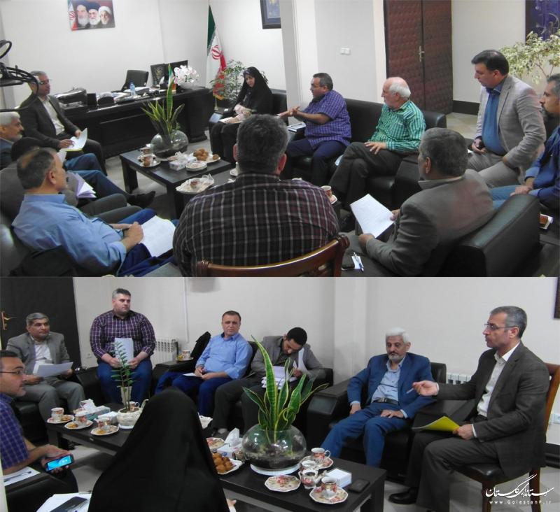 شورای مشورتی گرامیداشت هفته خبرنگار استان گلستان تشکیل جلسه داد