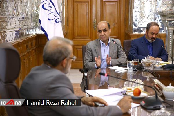 سومین دیدار استاندار گلستان با رییس مجلس