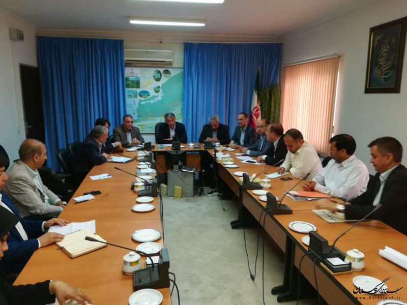 موضوعات شهری و سایر پروژه های عمرانی حوزه راه و شهرسازی شهرستان گنبد بررسی شد