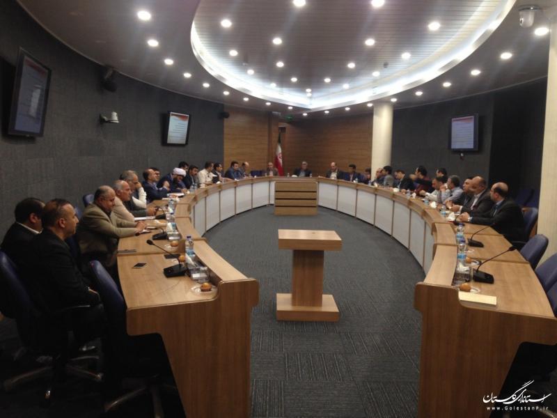 سومین جلسه شورای مسکن استان گلستان تشکیل شد