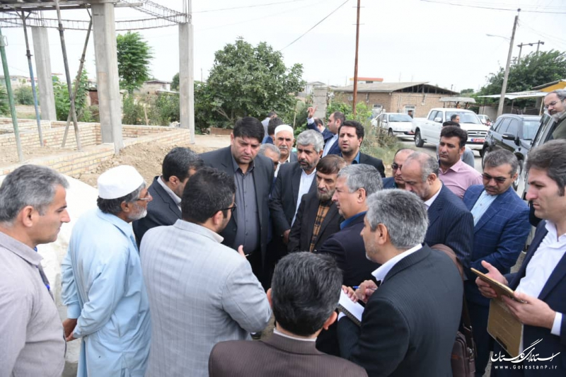 روند بازسازی در استان گلستان را به نسبت دیگر استانهای سیل زده خوب ارزیابی میکنم