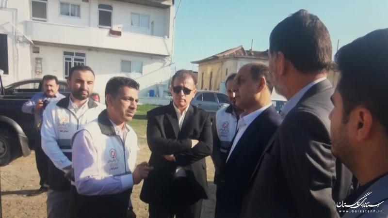 اتمام تعمیرات واحدهای مسکونی در گمیشان