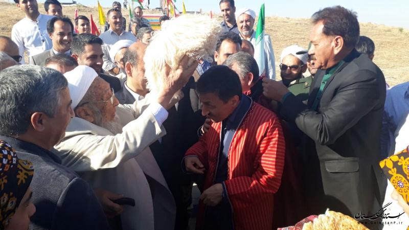 حضور رییس بنیاد مستضعفان انقلاب اسلامی کشور در شهرستان مراوه تپه