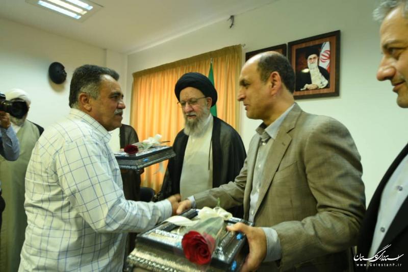 تجلیل استاندار گلستان از دو آزاده سرفراز گلستانی