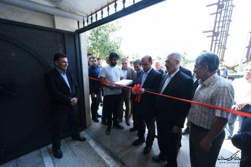 پروژه 94 واحدی مسکن مهر کشت و صنعت شهرستان گرگان افتتاح شد