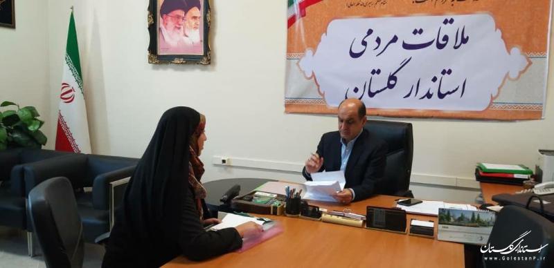 ملاقات مردمی استاندار گلستان برگزار شد