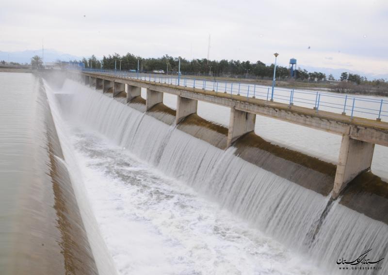 رهاسازی آب سد وشمگیر صورت پذیرفت