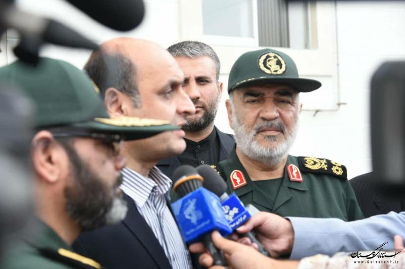 عملیات تعمیر و احداث 1185 واحد سیلزده استان با کمک سپاه پاسداران انجام می شود