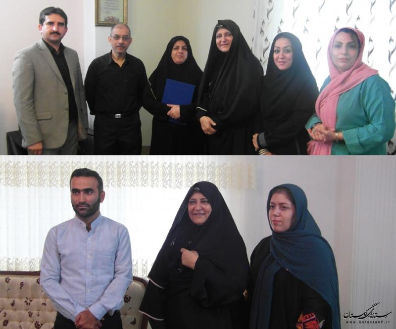 دیدار با دو هنرمند گلستانی به مناسبت روز ملی سینما