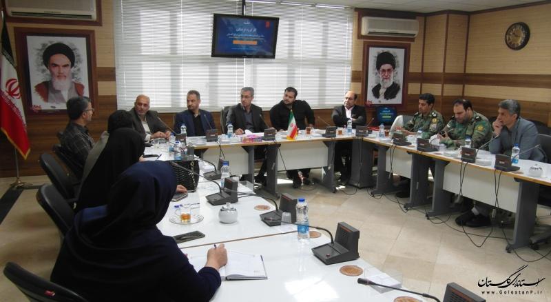 کارگروه فرهنگی ستاد بزرگداشت هفته دفاع مقدس استان گلستان تشکیل جلسه داد