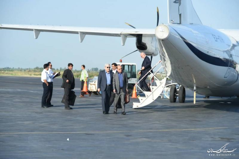 سفر معاون علمی و فناوری رئیس جمهور به گلستان