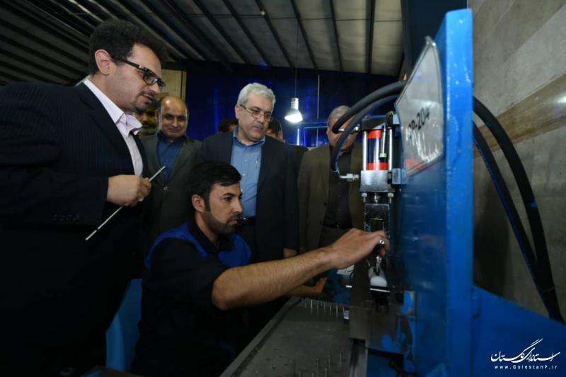 بازدید معاون رئیس جمهور از مراکز نوآوری و شرکت های دانش بنیان گلستان