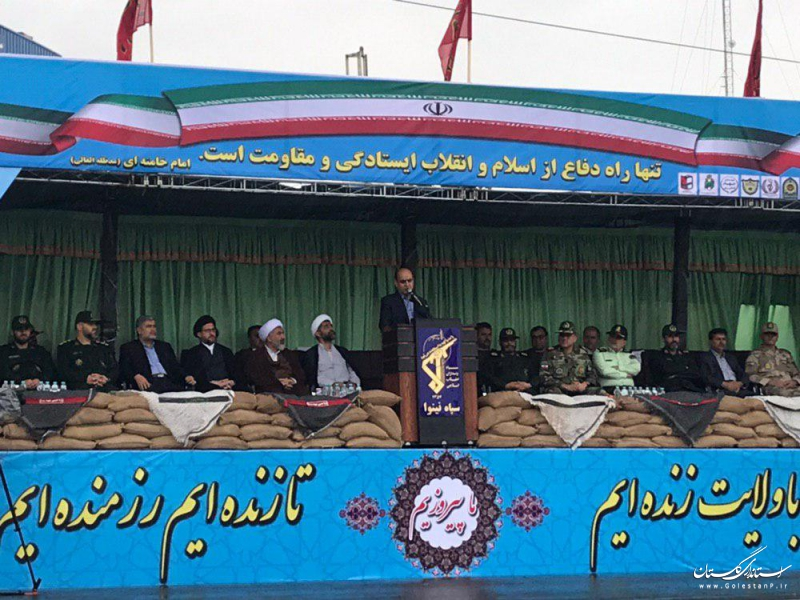 اقتدار امروز جمهوری اسلامی ایران دستاورد هشت سال جنگ ناجوانمردانه است