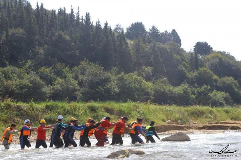 استان گلستان میزبان دوره تخصصی جستوجو و نجات در محیطهای آبی