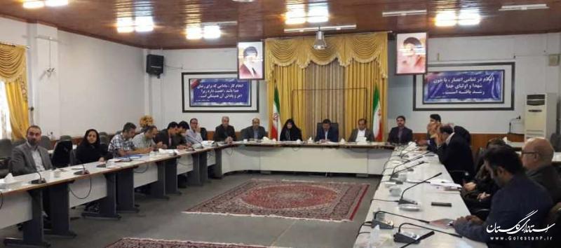 سومین جلسه شهر خلاق فرهنگ و هنر شهرستان گرگان تشکیل شد