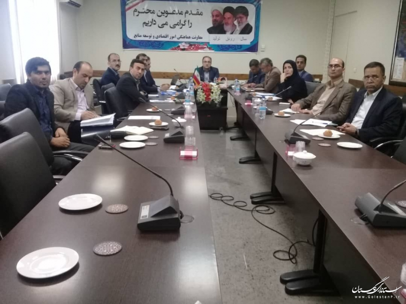 جلسه ارائه نتایج پژوهشی مسائل و مشکلات سرمایه گذاری در استان