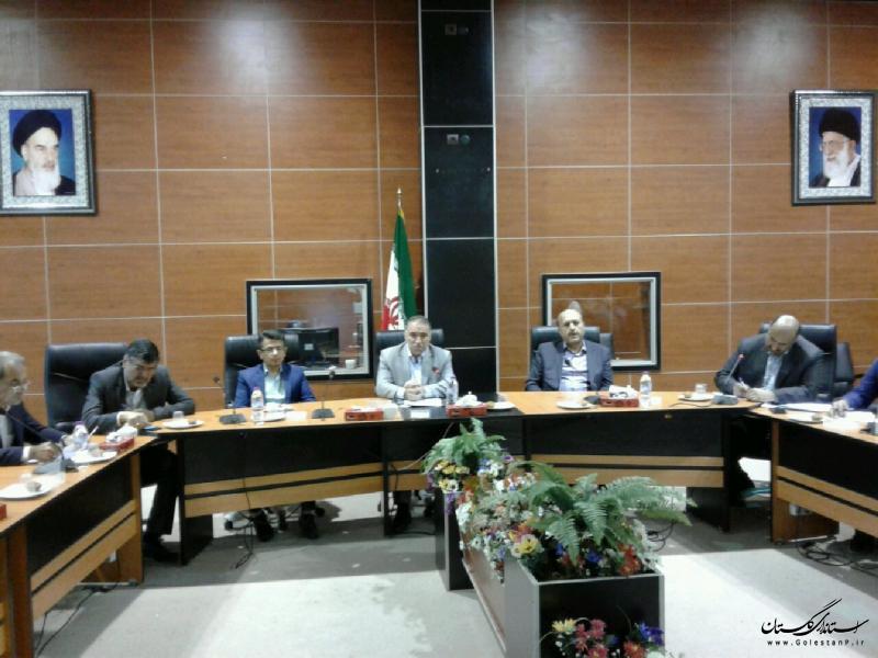 دومین جلسه کارگروه تخصصی مخاطرات زلزله و لغزش های زمین استان گلستان برگزار شد