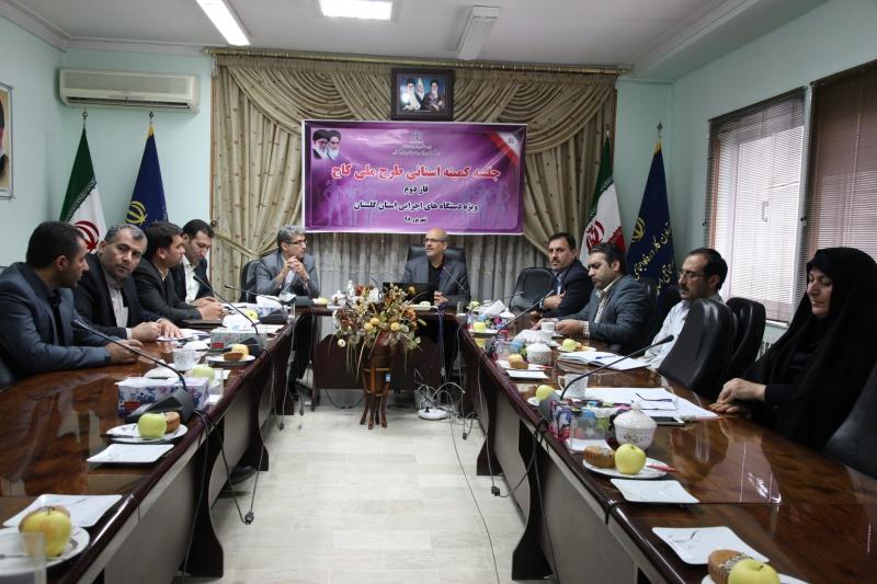 طرح ملی کاج در کارگاه های گلستان اجرایی شد