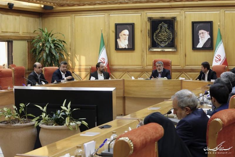 تاکید وزیر کشور بر مشارکت مردم، شهرداری ها و دولت در اجرای پروژه های مدیریت پسماند