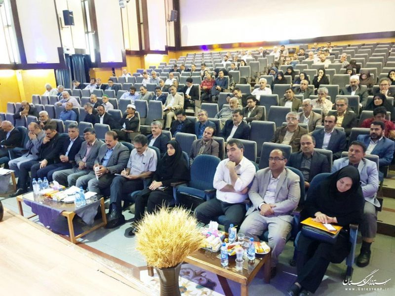 برگزاری گردهمایی کشت محصولات پاییزه استان گلستان