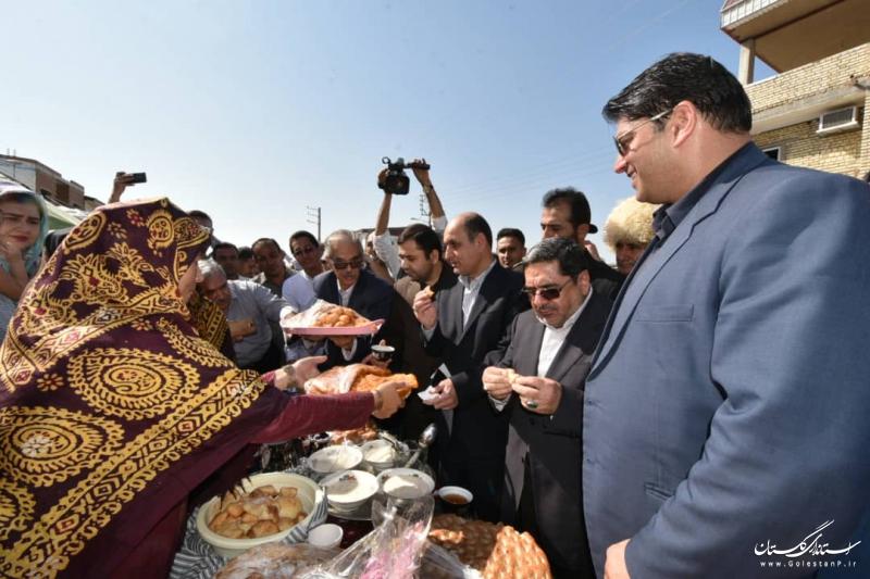500 واحد مسکونی احداثی در مناطق سیل زده به بهره برداری رسید