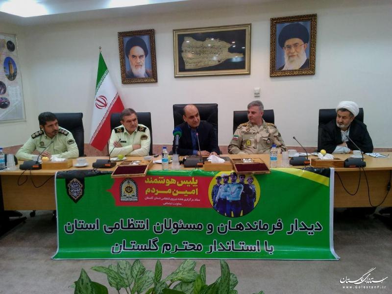 نیروی انتظامی نماد ایجاد امنیت و آرامش در کشور است