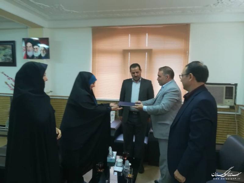 سرپرست اداره راه و شهرسازي علی آباد کتول منصوب شد