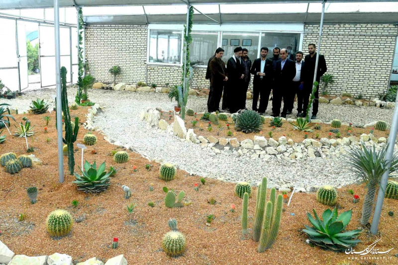 بازدید استاندار گلستان از شهرک گلخانه ای دانشگاه آزاد گرگان