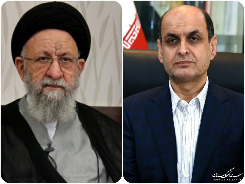 برگزاری مراسم بزرگداشت سید ابراهیم درازگیسو از طرف نماینده ولی فقیه  در استان و استاندار گلستان