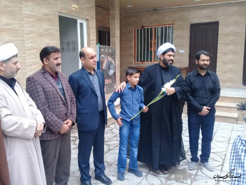 حضور استاندار گلستان در مرکز نگهداری کودکان بی سرپرست امام علی (ع) و دلجویی از آنان