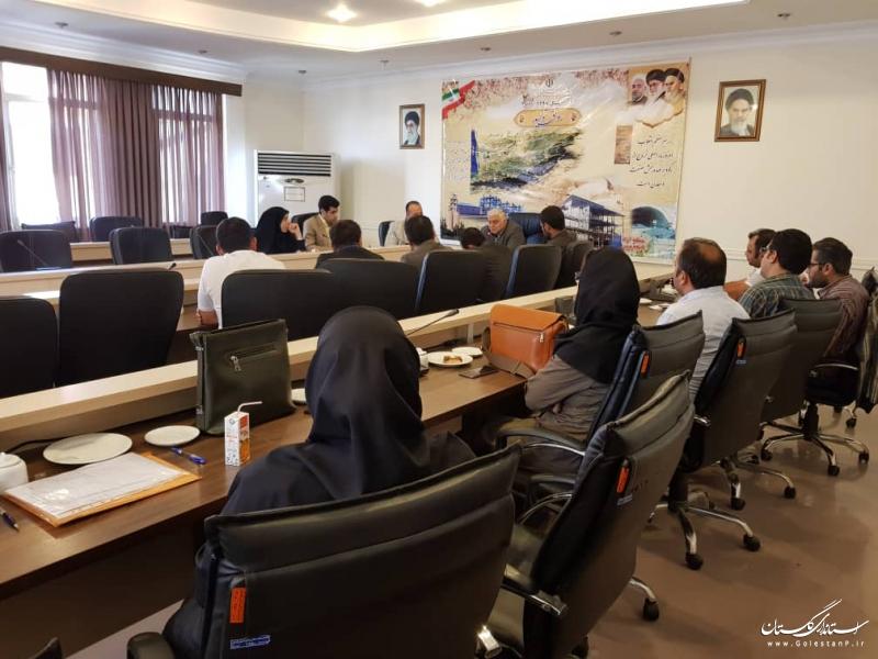 برگزاری کمیته صنایع معدنی و متالورژی در سازمان صنعت، معدن و تجارت استان گلستان