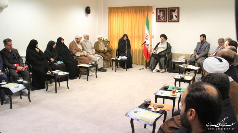 احکام اعضای شورای ستاد هماهنگی کانون های فرهنگی هنری مساجد استان گلستان اهدا شد