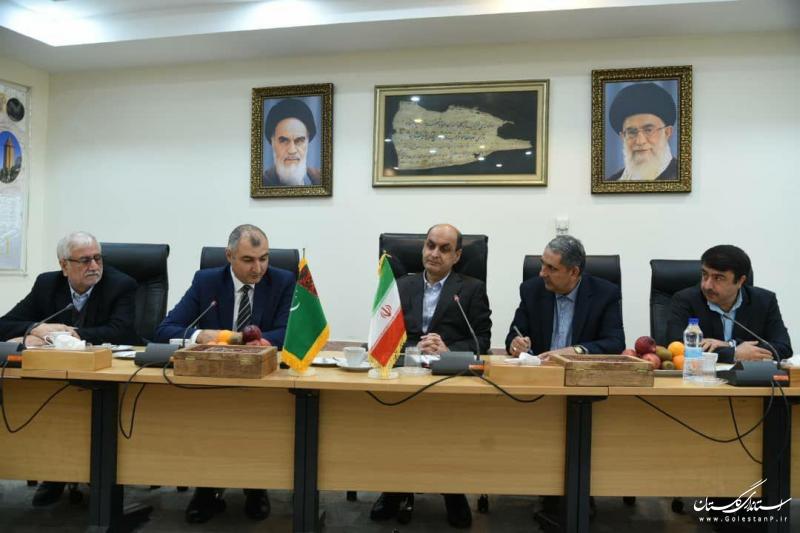 خواهان ارتقا روابط در همه زمینه ها با ترکمنستان هستیم
