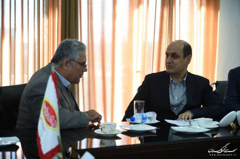 بازدید استاندار گلستان از کارخانه محصولات لبنی آشوراده