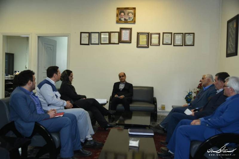 بازدید استاندار گلستان از شرکت روغن نباتی یگانه خزر