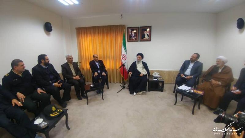 حضور استاندار گلستان در ستاد امر به معروف و نهی از منکر استان